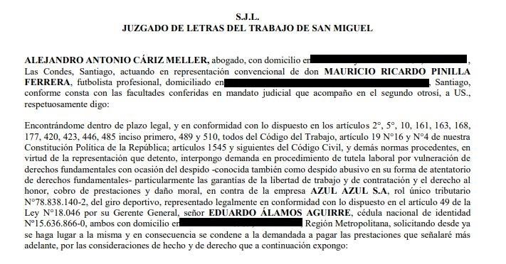 Mauricio Pinilla reaparece en público tras su escandalosa salida de la U
