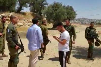 VIDEOS |Diputados acusan haber sido expulsados de reunión en Palestina por ejército israelí