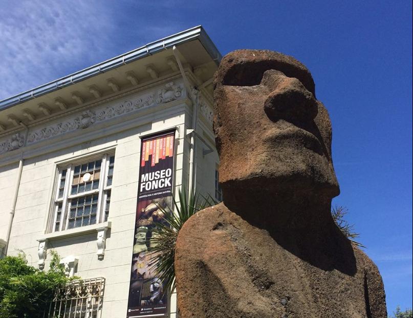"""""""Alcaldesa de Viña se niega a devolver moai a Rapa Nui:"""