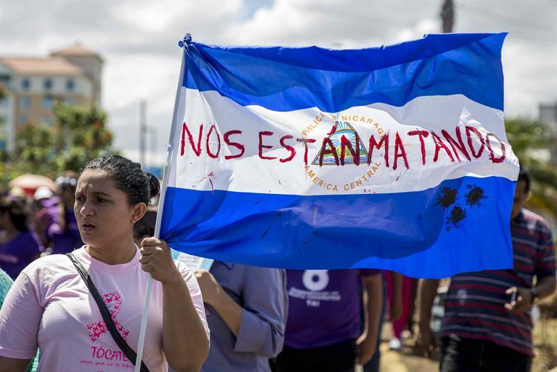 ONU: Gobierno de Nicaragua viola los DD.HH.