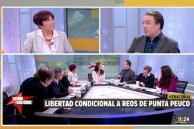 El duro round entre Carmen Hertz (PC) y Gonzalo Müller (UDI) por la liberación de reos de Punta Peuco