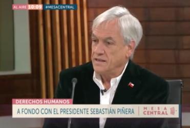 Piñera anuncia la creación del Museo de la Democracia