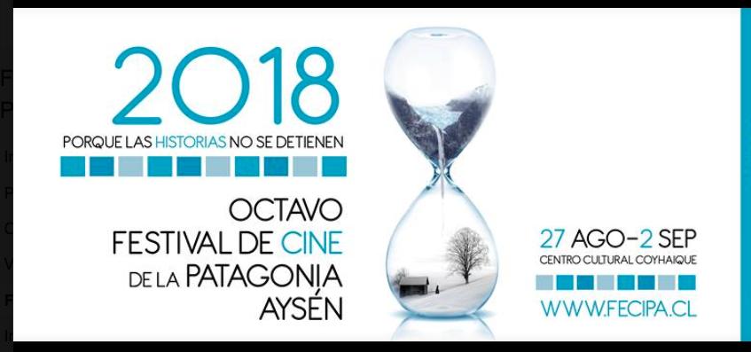 Revisa la programación del Festival de Cine de la Patagonia