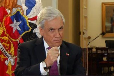 """Piñera: """"Durante 20 años de investigación nunca se han imputado cargos a Luis Castillo"""""""