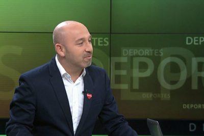 VIDEO |Ya hay denuncias en el CNTV: periodista de Canal 13 responde a la furia de los hinchas albos por 'lanzazo'