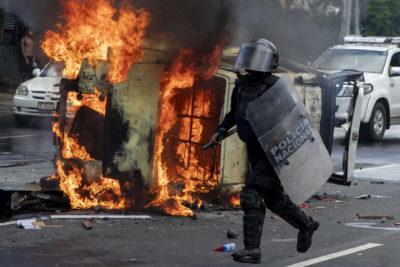 Paro nacional en Nicaragua en protesta contra el presidente Daniel Ortega