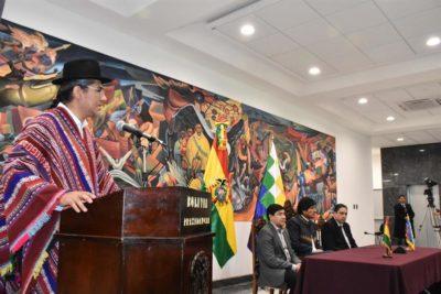 """Canciller boliviano espera """"nueva etapa con Chile"""" tras el fallo de La Haya"""