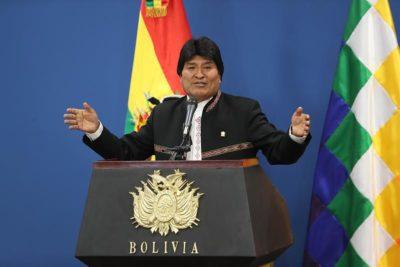 """Evo Morales acusa a EE.UU. de usar la lucha antiterrorista para """"invadir"""" e impulsar una """"carrera armamentista"""""""
