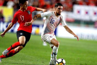 Increíble fallo de Diego Valdés marcó amargo empate entre la Roja y Corea del Sur