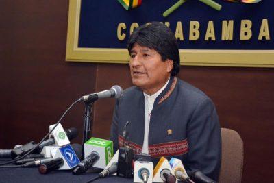 """Evo Morales invita a Piñera a """"cerrar las heridas abiertas hace más de cien años"""""""