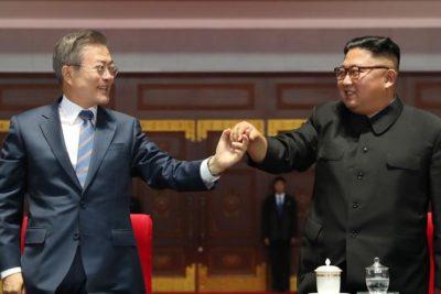 """Presidente surcoreano califica como un """"éxito"""" cumbre con Kim Jon-un y asegura que tiene un mensaje para Trump"""