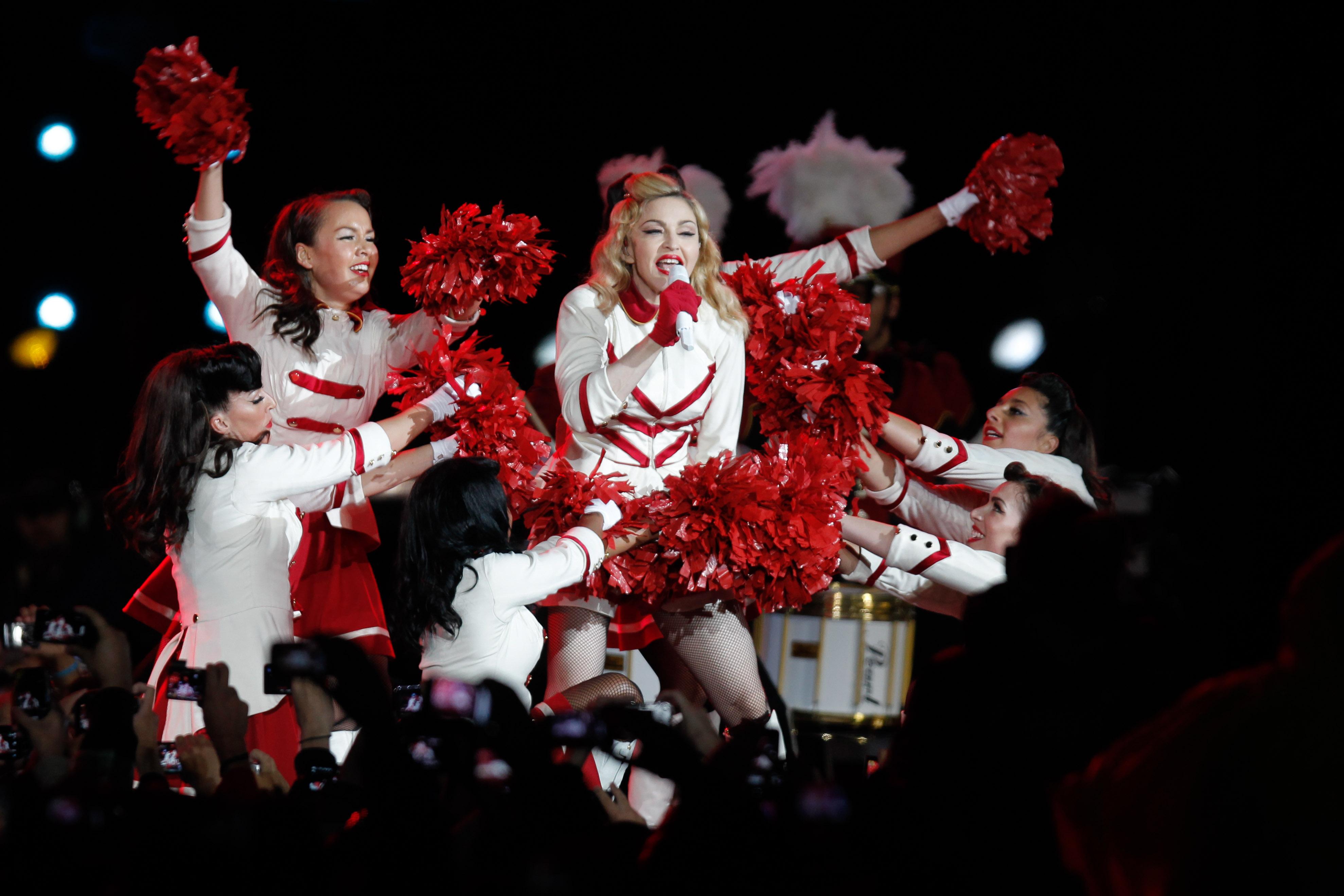 """""""Confirman fallo contra productora por concierto incompleto de Madonna en 2012"""""""