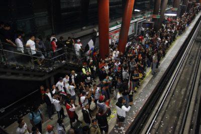 Metro NO extenderá su servicio por el partido de Colo Colo en Copa Libertadores