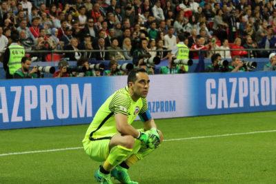 """Claudio Bravo se siente dentro de la Roja: """"Me encantaría jugar Copa América el próximo año para ganarla"""""""