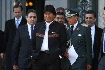 El mensaje dieciochero de Evo Morales a Chile