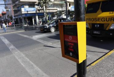 Revelan la intersección de la Región Metropolitana con mayores imprudencias de peatones