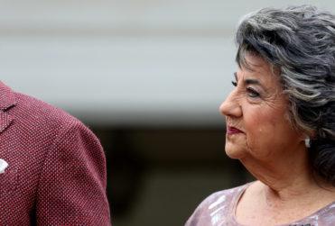 Graban momento de furia de alcaldesa Virginia Reginato
