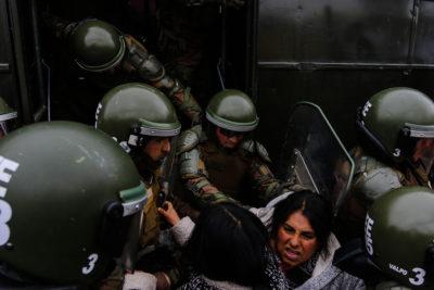 Chile informa a ONU de 802 casos de uso excesivo de la fuerza de Carabineros entre 2010-2017