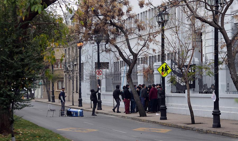 Aplicación y Darío Salas: nuevos enfrentamientos entre desconocidos y Carabineros