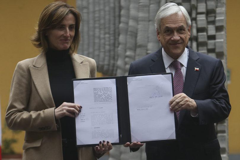 """Piñera presenta """"Aula Segura"""": el proyecto que busca sancionar a los estudiantes que participen en actos de violencia"""