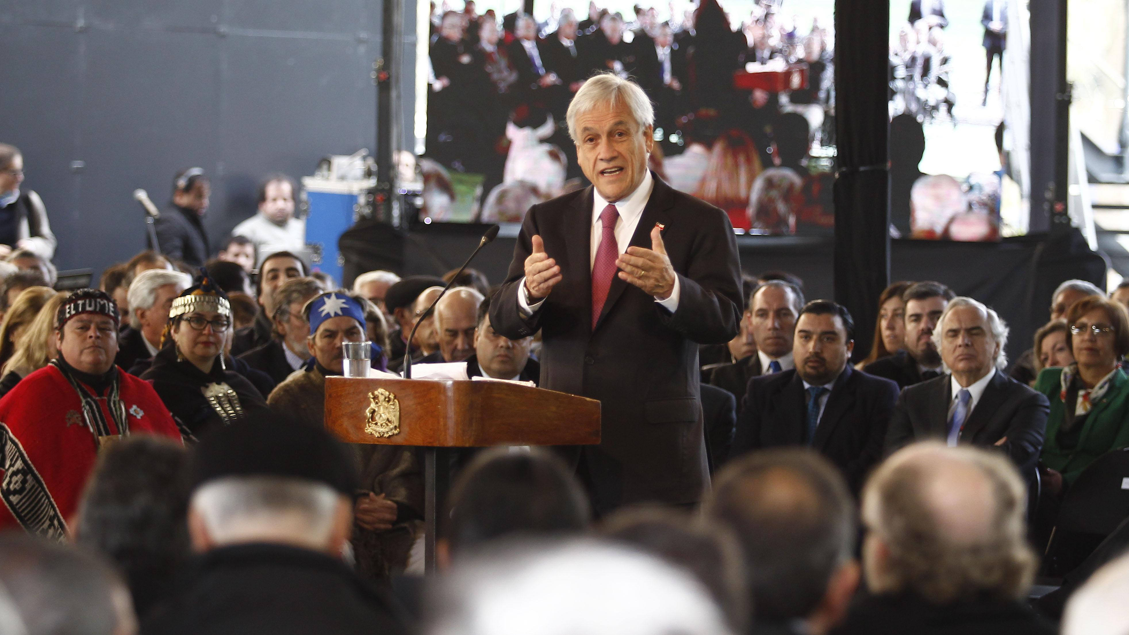 """""""Plan Araucanía implicará una inversión estatal de US$ 8.000 millones en 8 años"""""""