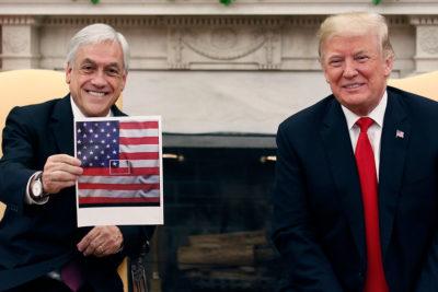 Una bandera en la Casa Blanca o la patria a conveniencia
