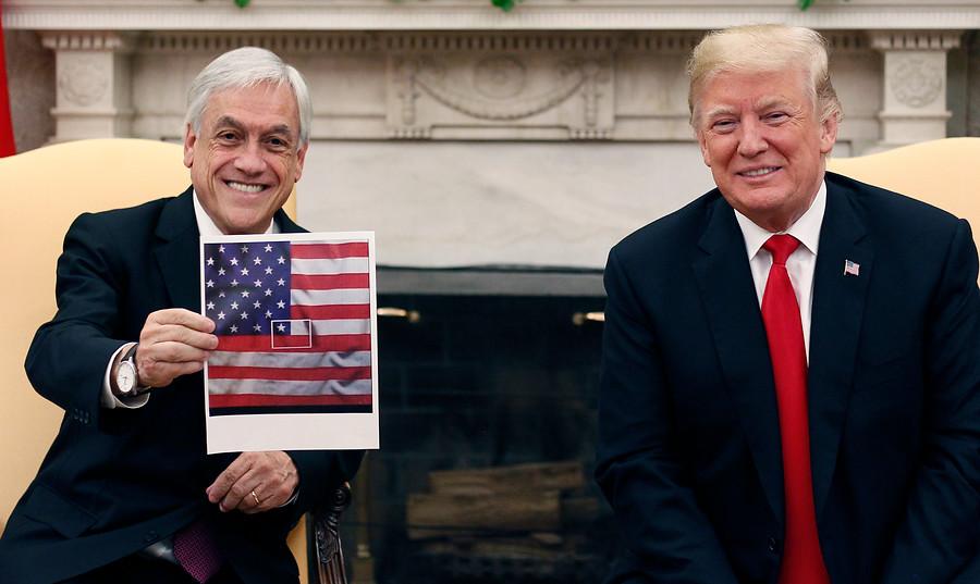 """""""Una bandera en la Casa Blanca o la patria a conveniencia"""""""