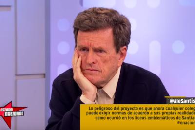 VIDEO |Aula Segura: Carlos Larraín dio clases en TV de cómo educar jóvenes y le recordaron el episodio de su hijo