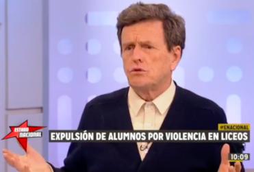 Carlos Larraín dio clases de cómo educar a los jóvenes y le recordaron el accidente que protagonizó su hijo