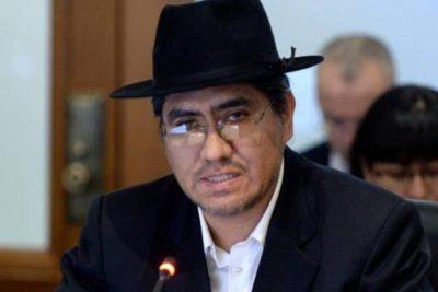 """Canciller boliviano acusa a Roberto Ampuero de """"provocar y confundir"""" por demanda marítima"""