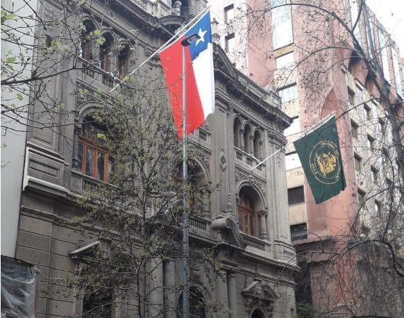 Las palabras de Fernando Atria y Fidel Espinoza por izamiento de bandera en el Tribunal Constitucional el 11 de septiembre