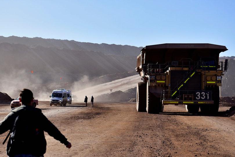 Producción industrial se contrajo 1,8% por fuerte caída de minería