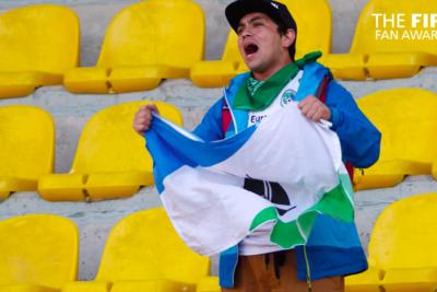 VIDEO |Solitario hincha de Puerto Montt fue nominado por la FIFA al Fan Award