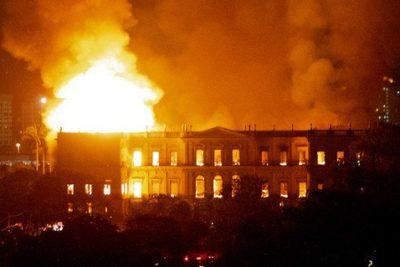 Las invaluables piezas que se perdieron en el incendio del Museo Nacional de Brasil