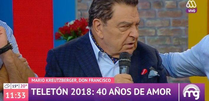VIDEO |Don Francisco responde denuncia de Natalia Valdebenito por abusos a niños en Sábado Gigante