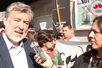 Guillier aclaró que video en apoyo de asilo no era para Palma Salamanca