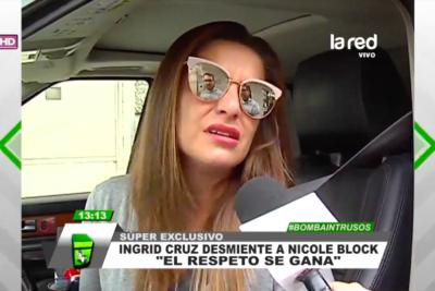 VIDEO |Ingrid Cruz sale en defensa de Mega tras acusaciones de abuso laboral de ex actriz