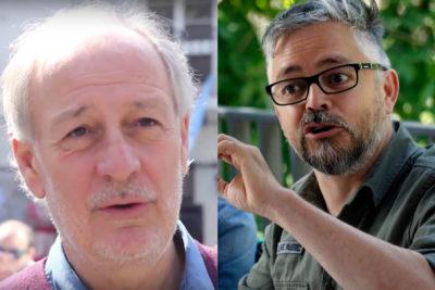 Pelea entre Luis Larraín y Baradit por Pinochet terminó en inesperado mensaje desde el tuiter oficial de Claro Chile
