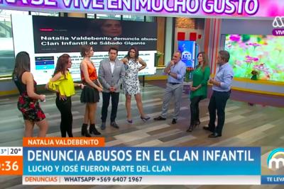 VIDEO  Sin cortes: los cuestionamientos del Mucho Gusto a Natalia Valdebenito por denunciar abusos en Sábado Gigante