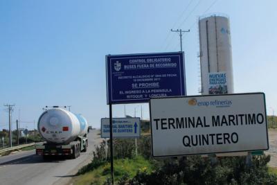 Schmidt descarta que Enap sea la única empresa contaminante en Quintero