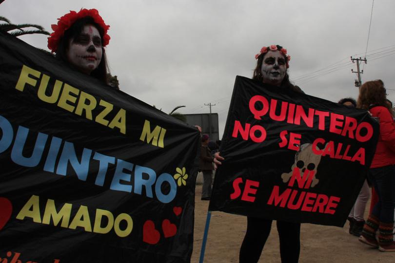 INDH presenta recurso de protección para habitantes de Quintero y Puchuncaví por crisis ambiental