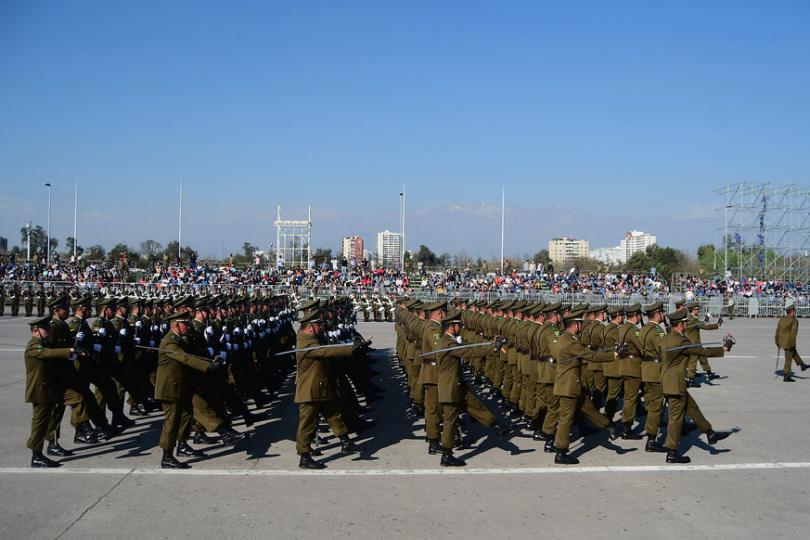 Muere carabinero que iba a participar en Parada Militar