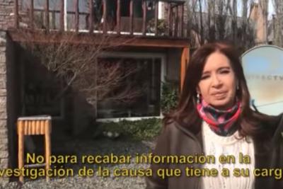 """Cristina Fernández tras allanamiento en su casa: """"Se llevaron todo"""""""