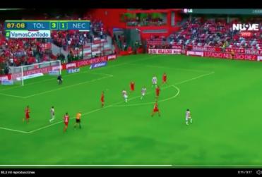 VIDEO | El golazo de Matías Fernández en la derrota del Necaxa
