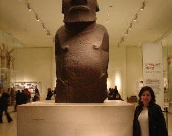 Alcalde de Rapa Nui no quiere de vuelta el moai del Museo Británico de Londres
