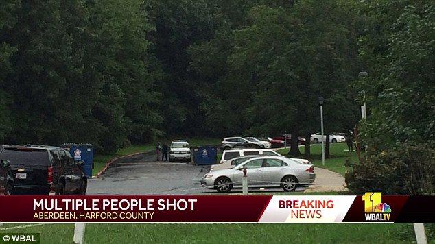 VIDEOS  Tiroteo deja varias víctimas en Maryland, Estados Unidos
