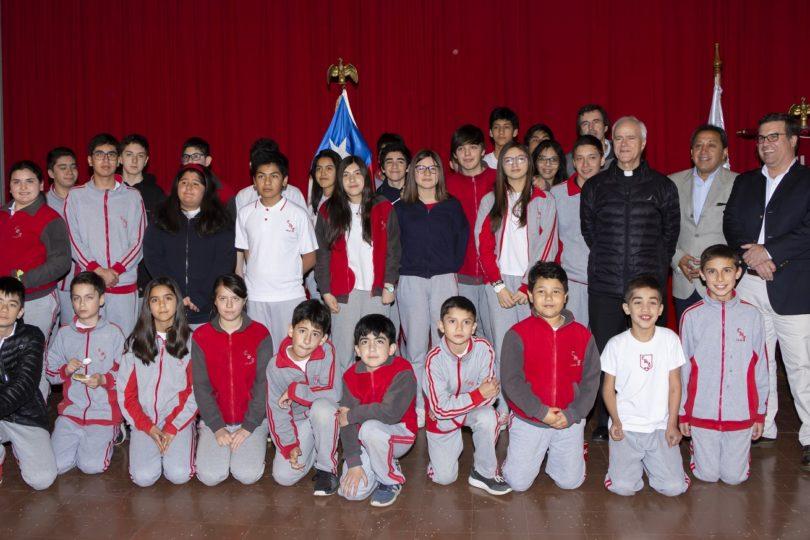 Colegio San Jorge de Laja pasará a manos de fundación católica y en 2020 será gratuito