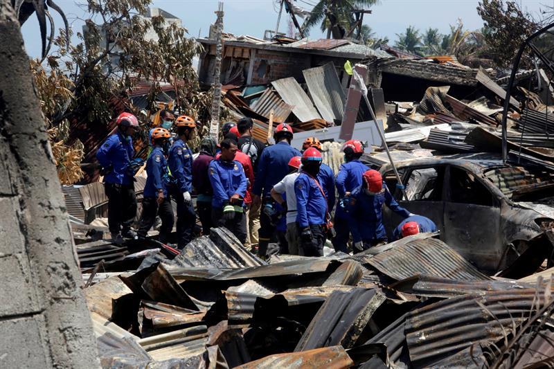 Asciende a 1.234 la cifra de muertos por terremoto y tsunami en Indonesia