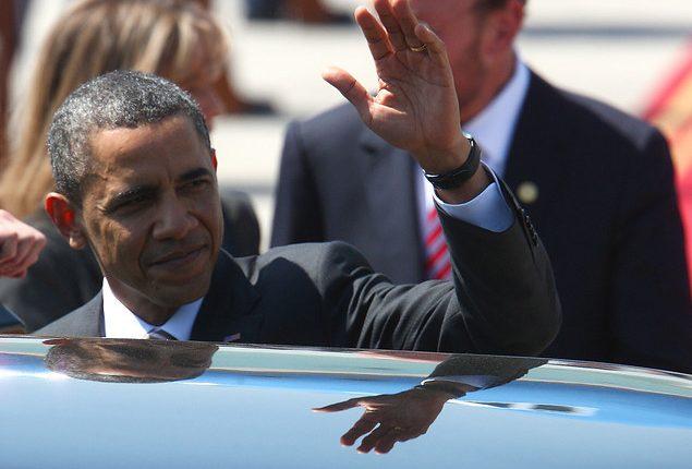"""""""Barack Obama hasta abajo:"""