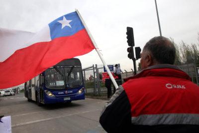 Trabajadores de Subus extienden de manera indefinida huelga legal